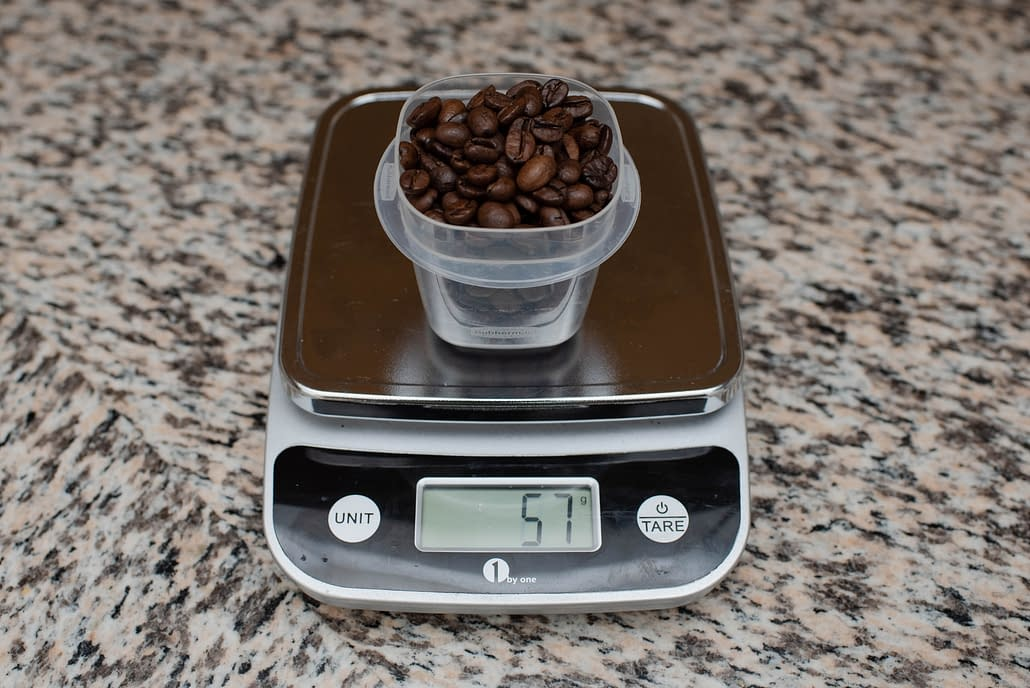 Weigh your beans!