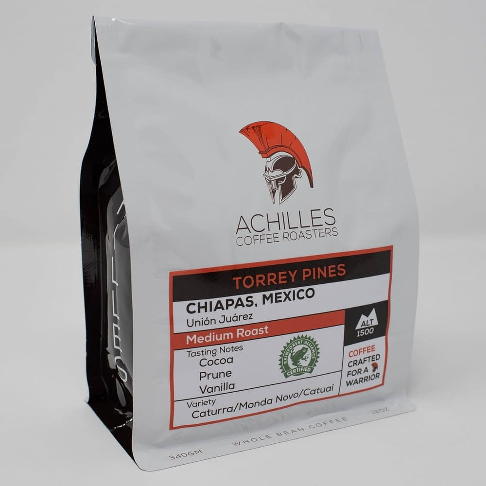 Whole Bean Medium Roast Coffee from Chiapas Mexico