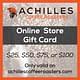 Achilles Online Gift Card