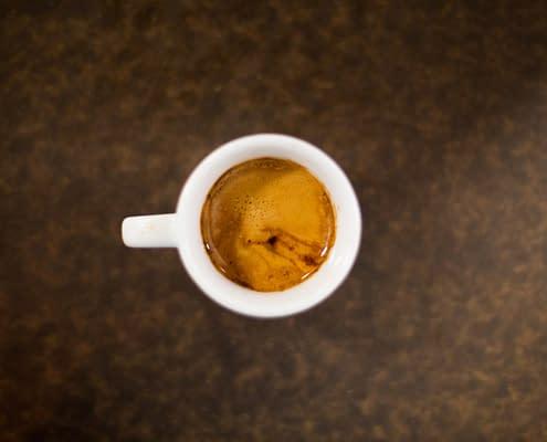 Shot of Espresso Cappuccino Flat White