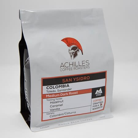 Whole Bean Medium Dark Roast Coffee from Colombia
