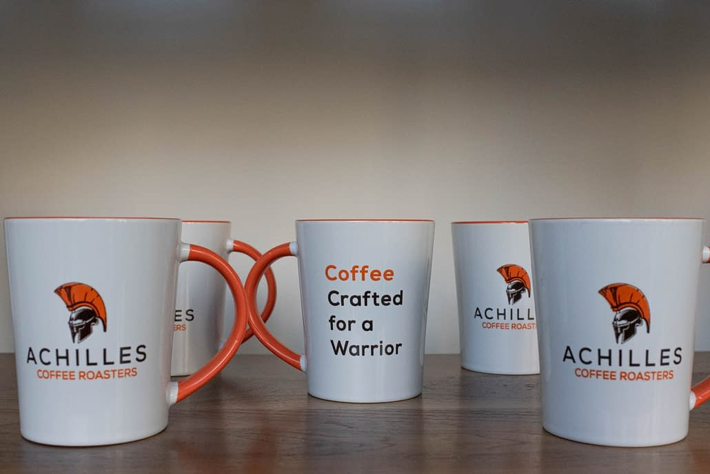 Improve your sustainability with an Achilles Mug