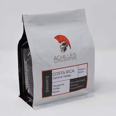 Whole Bean Coffee Medium Roast from Costa Rica