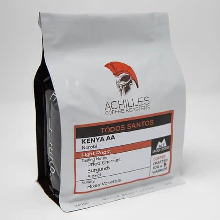 Whole Bean Roasted Coffee Kenya AA